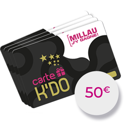 Carte Kdo 50 €